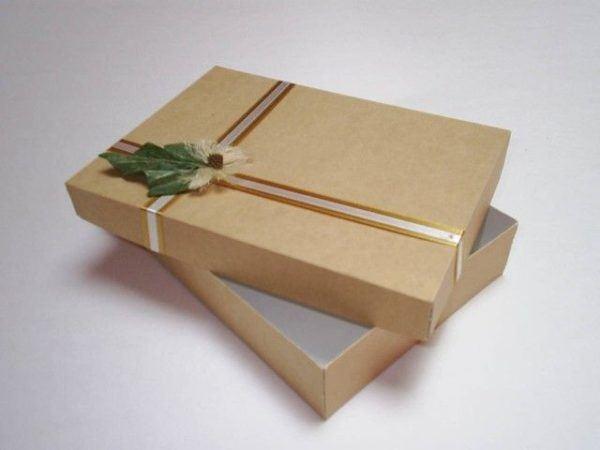 C mo hacer cajas de cart n a medida paso a paso manualidades - Cajas grandes de carton decoradas ...