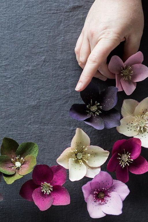 Cómo Hacer Flores De Papel Crepe Manualidadeses