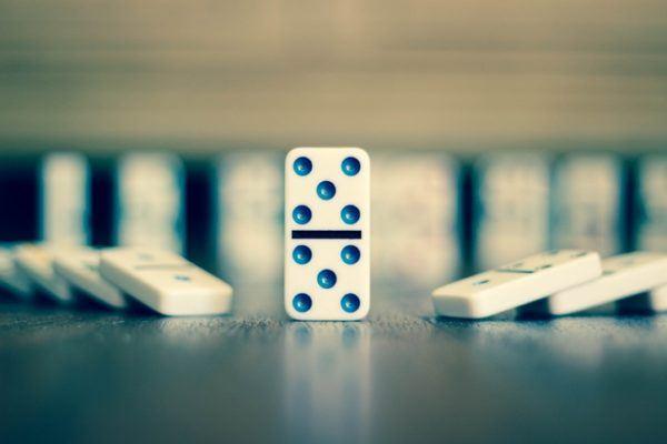 Como hacer domino reciclado consejos