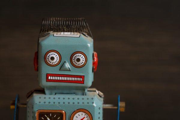 Robot reciclado pasos