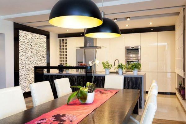 Paredes piedra casa cocina