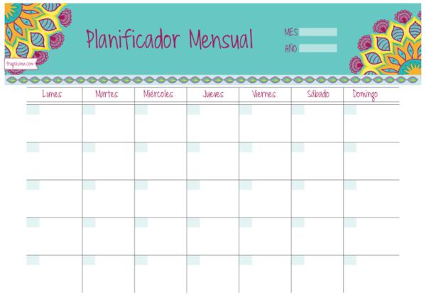 C mo hacer un organizador de tareas semanal mensual y - Organizadores hogar ...