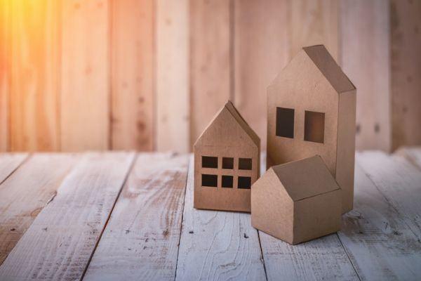 Como hacer una casa de carton casitas
