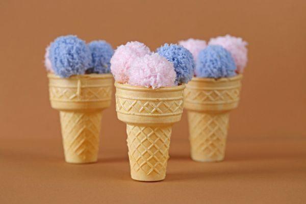 manualidades-con-lana-helado-istock