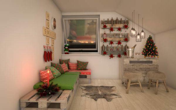 Manualidades para decorar tu cuarto en navidad