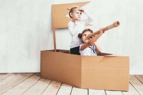 Aprende a hacer juguetes con cajas de carton barco