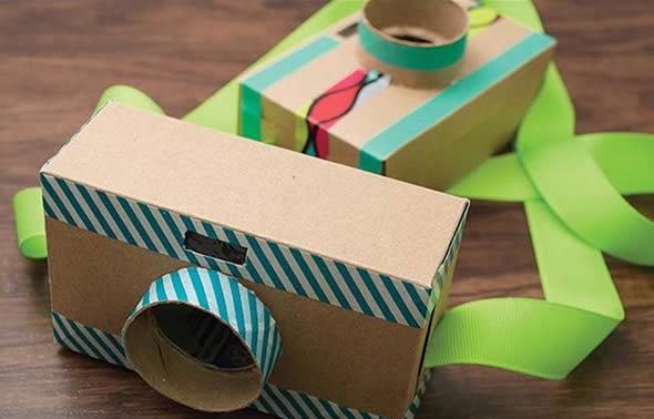 Aprende a hacer juguetes con cajas de carton camara