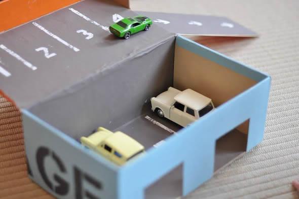 Aprende a hacer juguetes con cajas de carton parking