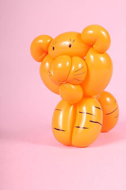 Como hacer animales con globos paso a paso TIGRE